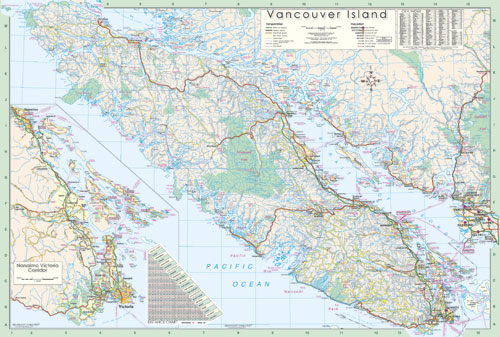 View all wall maps